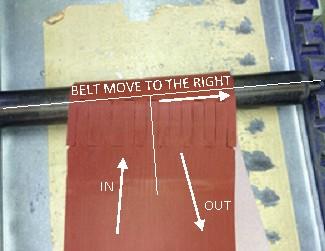 Conveyor Belt Tracking Adjustment Tension Alignment