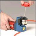 Fasten the belt in welding tool