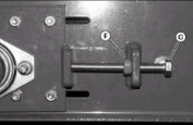 Conveyor belt tracking adjustment
