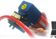 Polyurethane and polyester belt welding tool (for round belt and V belt)