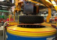 Tyre production plant